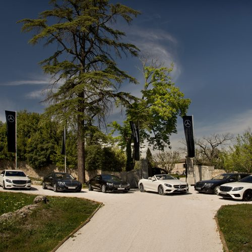 MERCEDES-BENZ - Press Presentation C&ocirc;te d'Azur 2016<br>
