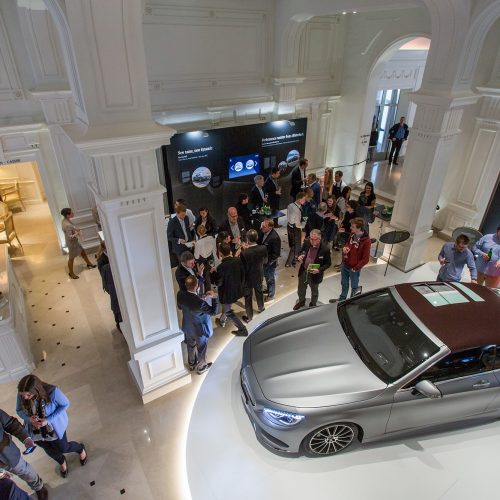 MERCEDES-BENZ - Press Presentation Côte d'Azur 2016<br>