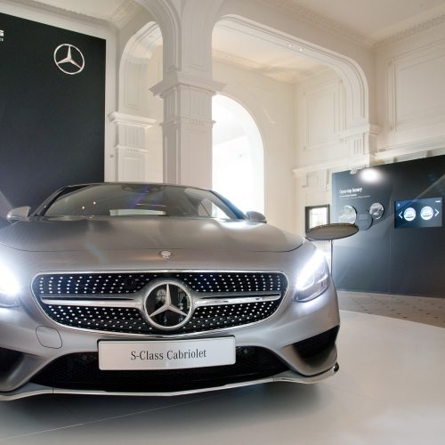 MERCEDES-BENZ (S-CLASS CABRIOLET & SLC) - Press Presentation Côte d'Azur 2016<br><p>MERCEDES-BENZ entrusted NOVAE with the implementation of the logistics on the many sites involved in the marketing event.</p>