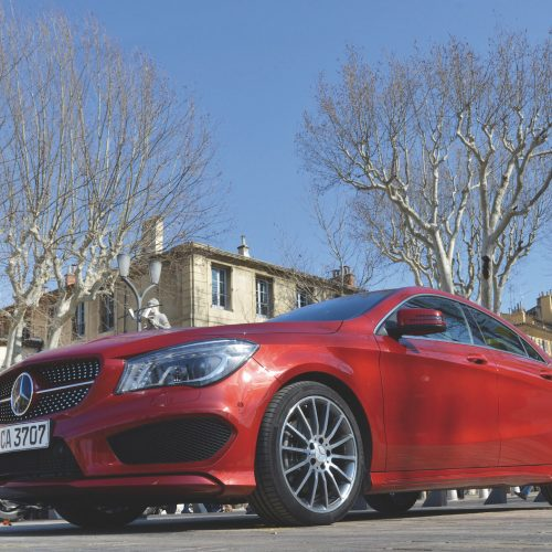 MERCEDES-BENZ (CL-CLASS C117 and CLA 250 4MATIC) - Press Presentation Aix en Provence 2013<br><p>MERCEDES-BENZ entrusted NOVAE with the implementation of the logistics on the many sites involved in the marketing event.</p>