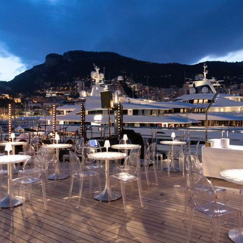 ESPEN ØEINO INTERNATIONAL - Monaco Yacht Show<br><p>NOVAE has been mandated by ESPEN ØEINO INTERNATIONAL, the luxury yacht designer and naval architect, for the organization of  the 25 years / 50 yachts designed Anniversary Party.</p> <p>In charge of the concept to the implementation of all aspects pertaining to the organization of the festivity onboard of M/Y BOLD during the Monaco Yacht Show.</p>